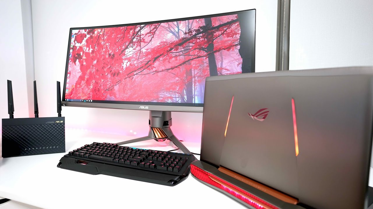 The Ultimate Gaming Laptop Setup Of 2017 Youtube