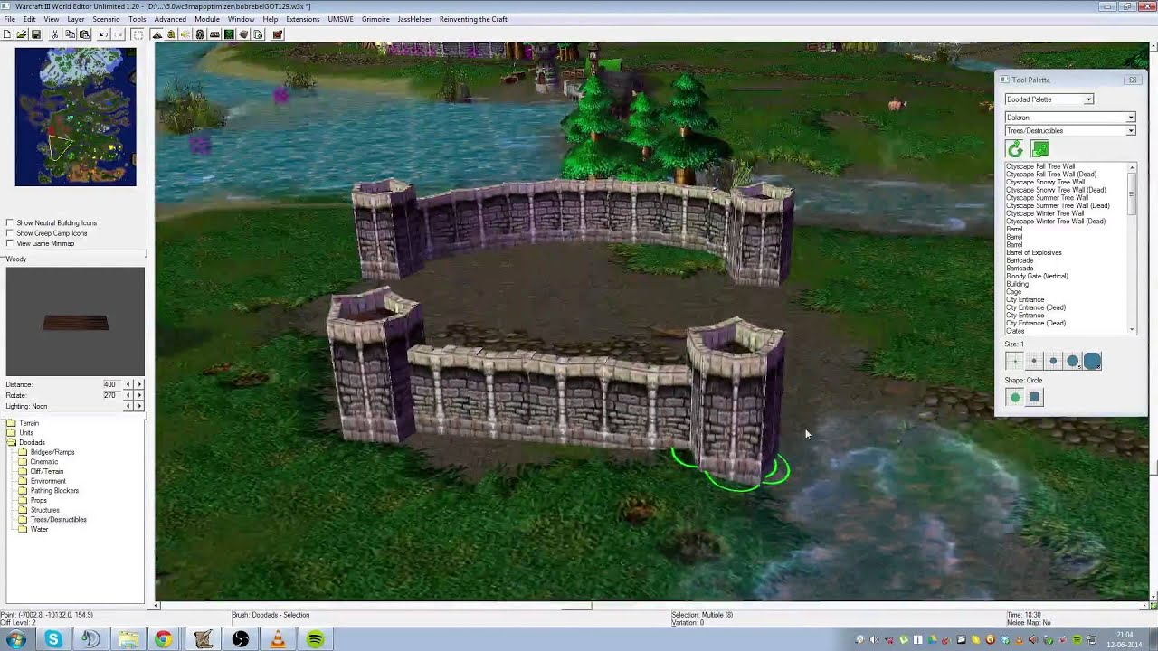 Warcraft 3 mapping tutorial 34 making a castle youtube warcraft 3 mapping tutorial 34 making a castle gumiabroncs Gallery
