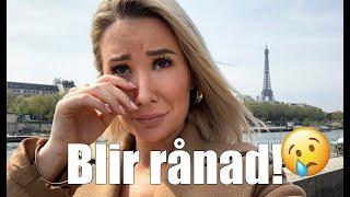 Romantiska resan till Paris gick inte som planerat!