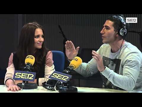 Paula Echeverría y Miguel Ángel Silvestre, en 'La Ventana'. Cadena SER