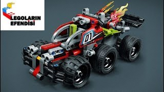 Lego Technic 42072+42073 Whack! ´n´ Bash!