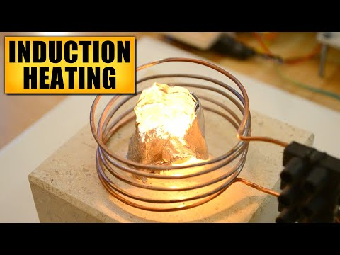 Induction heating - DIY Experiments #8 - Make an induction forge