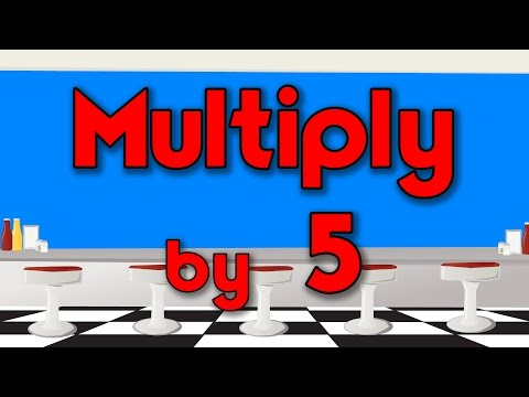 Multiply by 5   Learn Multiplication   Multiply By Music   Jack Hartmann