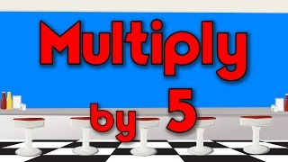 Multiply by 5 | Learn Multiplication | Multiply By Music | Jack Hartmann