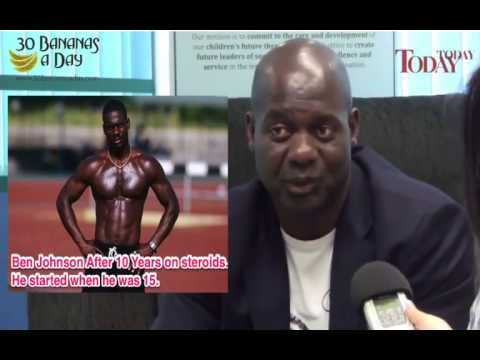 Ben Johnson Talks About Steroids