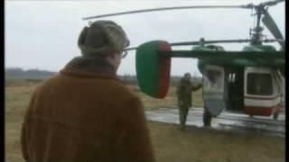 Охота в Чернобыле с вертолета на дикого кабана(Охота на кабана с вертолета в Чернобыльской зоне отчуждения. Сюжет из фильма National Geographic