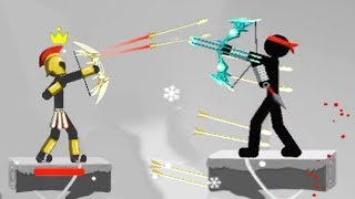 MR BOW - Walkthrough Gameplay Part 2 - LEVEL 32 - 40 (Stickman Game iOS)
