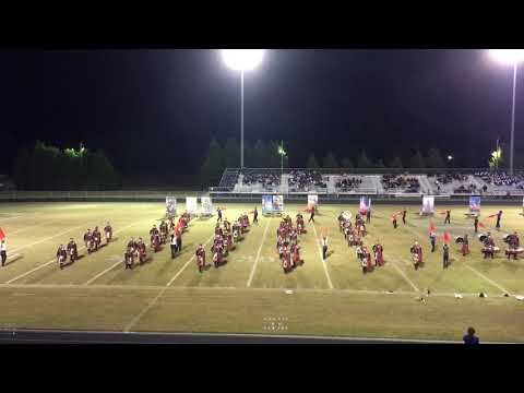 Scotland High School Marching Band 11-02-2018