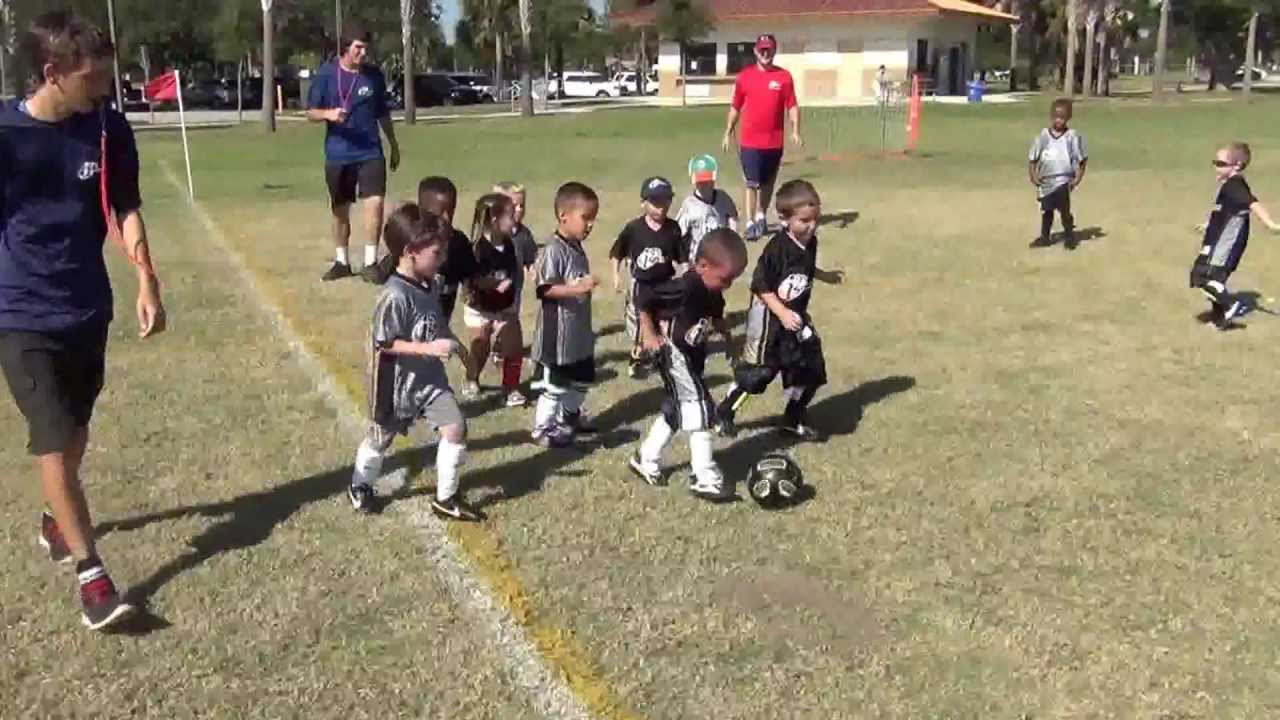 I9 Soccer 3 To 4 Years Old Tradewinds Park Game 4 Youtube