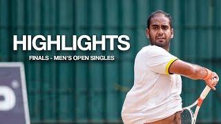 Highlights - Men's Singles Finals | SSC Open Tennis Tournament 2019 -