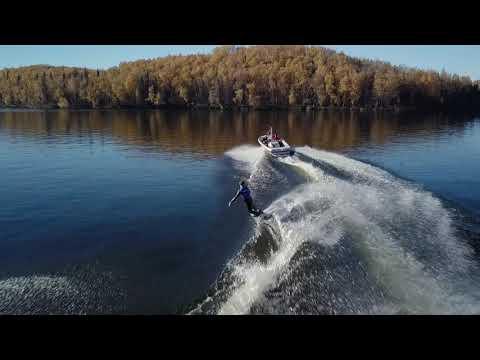 Wakeboard rental - Fall Alaskan Wakeboarding