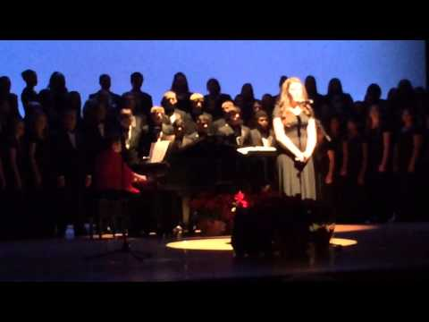Sydney's solo of The Christmas Song