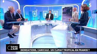 Inondations, canicule : un climat tropical en France ? #cdanslair 15.06.2018