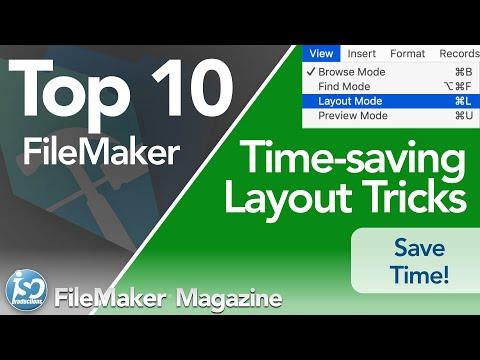 Top 10 time-saving Layout Tips