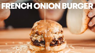 French Onion Burger