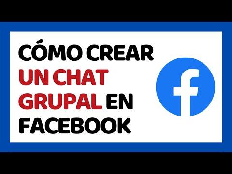 🔴 Cómo Crear Un Chat Grupal En Facebook 2019
