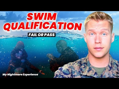Marine Corps Bootcamp Swim Qualification...My Nightmare Experience