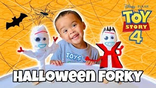 DIY Forky HALLOWEEN 2019 How To Make Forky Mummy And Vampire TOY STORY 4