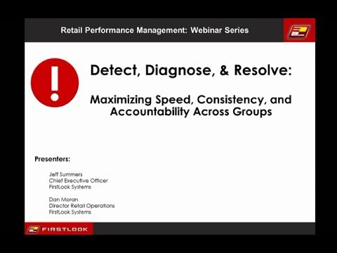 Detect, Diagnose, & Resolve: Maximizing Speed, Consistency, and Accountability Across Groups