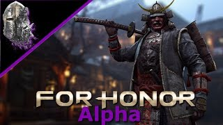 For Honor PS4 - Closed Alpha #03 - Dominion - Kensei Samurai - Let's Play For Honor Deutsch