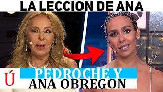 La lección de Ana Obregón a Cristina Pedroche en las Campanadas de Nochevieja 2020 2021