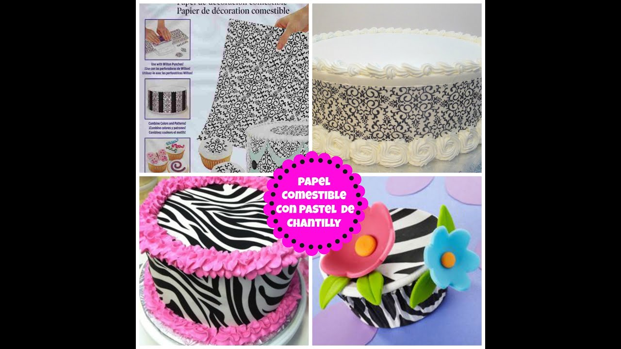 Papel Comestible Para Decorar Tortas