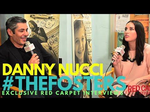 Danny Nucci ed on the set of Freeform's