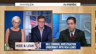 Glenn Greenwald Takes MSNBC's Mika Brzezinski, to Task for Using NSA WH Talking Points 06102013