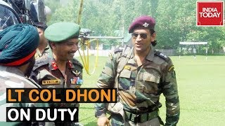 MS Dhoni To Begin Duty In Kashmir As Honorary Lieutenant Colonel From Today | July 31, 2019