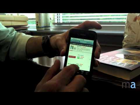 How to use the barcode scanner for ma Mobile with your Apple iPhone
