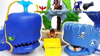 Pirate Whale VS Super Creature Whale~! Jake, Defeat Pirates With The Whale - ToyMart TV