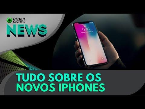 Apple revela iPhone 8, iPhone 8 Plus e iPhone X | OD News 12/09/2017