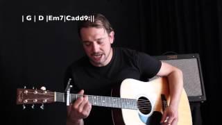 Parijs (Kenny B) - beginners gitaarles Guitar Boulevard