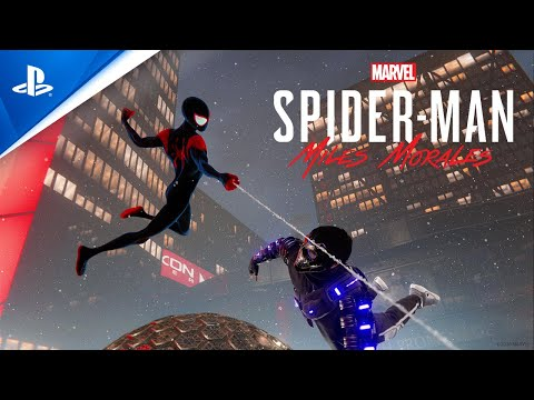 """Marvel's Spider-Man: Miles Morales – """"Spider-Man: Into the Spider-Verse"""" Suit Announce   PS5, PS4"""