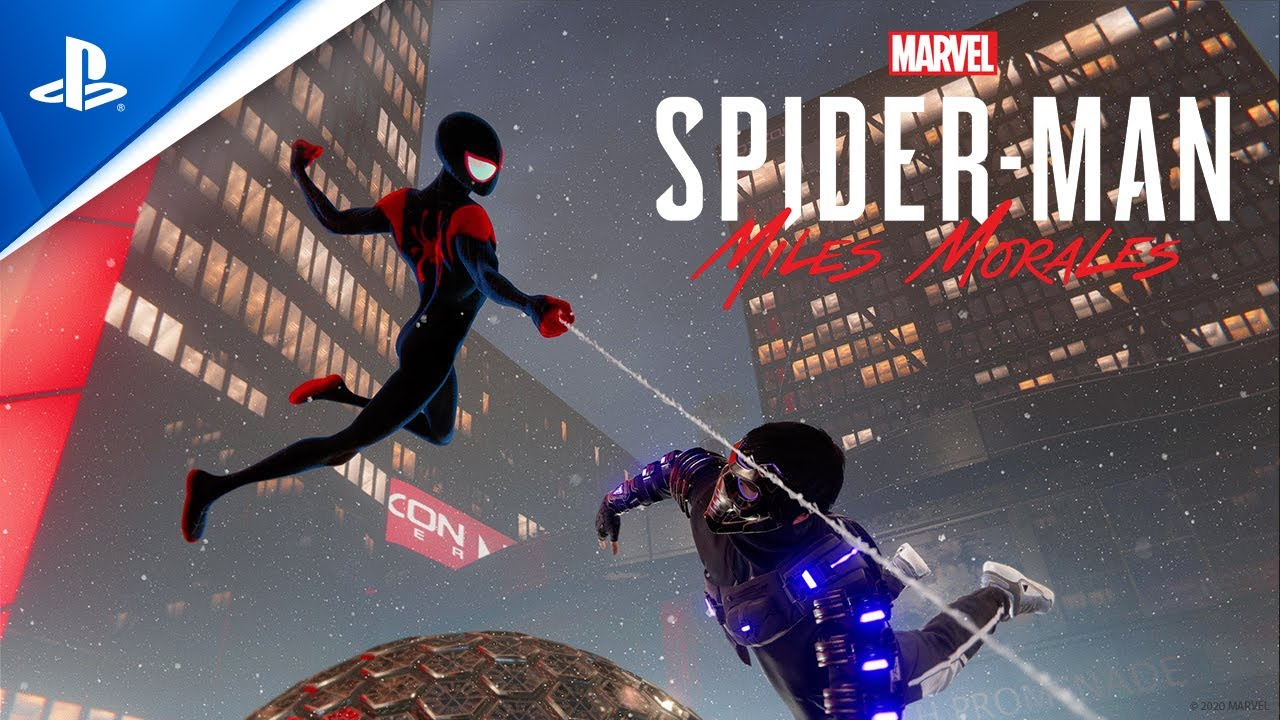"Marvel's Spider-Man: Miles Morales – ""Spider-Man: Into the Spider-Verse"" Suit Announce 
