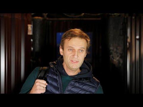 Navalny libéré en pleine nuit