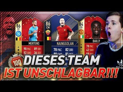 FIFA 18: Mit dem TEAM kannst DU NICHT VERLIEREN!😱😱 Beast 300K Fut Champions Squad Builder