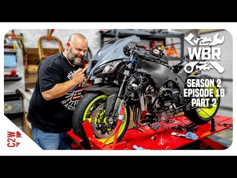 The ZX10R is SO CLOSE to being finished!! [Wrecked Bike Rebuild - S2 - Ep 18 - Ninja ZX-10R(part 2)]