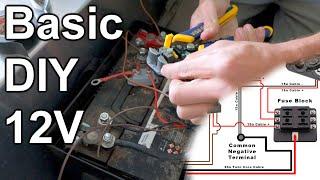 Basic DIY 12V Wiring   Fuses, Wire Sizing