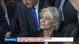 Mediapart Corrects Earlier Report on Fillon's Wife