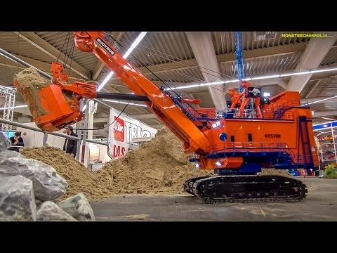 RC Excavator EXTREME! 1.400 Ton R/C Construction Machine At Work!