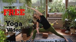 Namaste Yoga 201 Benefits of Yoga Series: Nervous System Intermediate Class