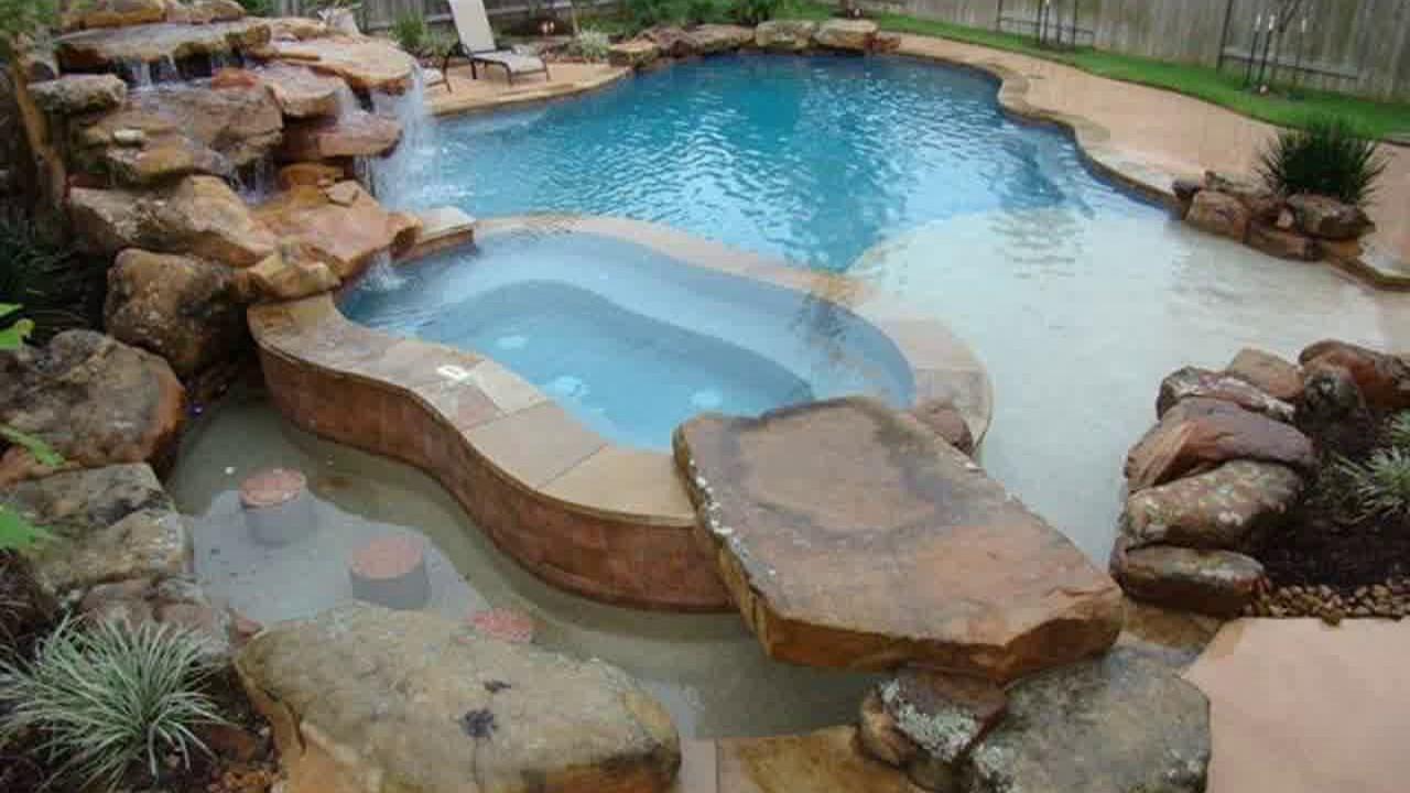 Rustic Swimming Pool Design Ideas