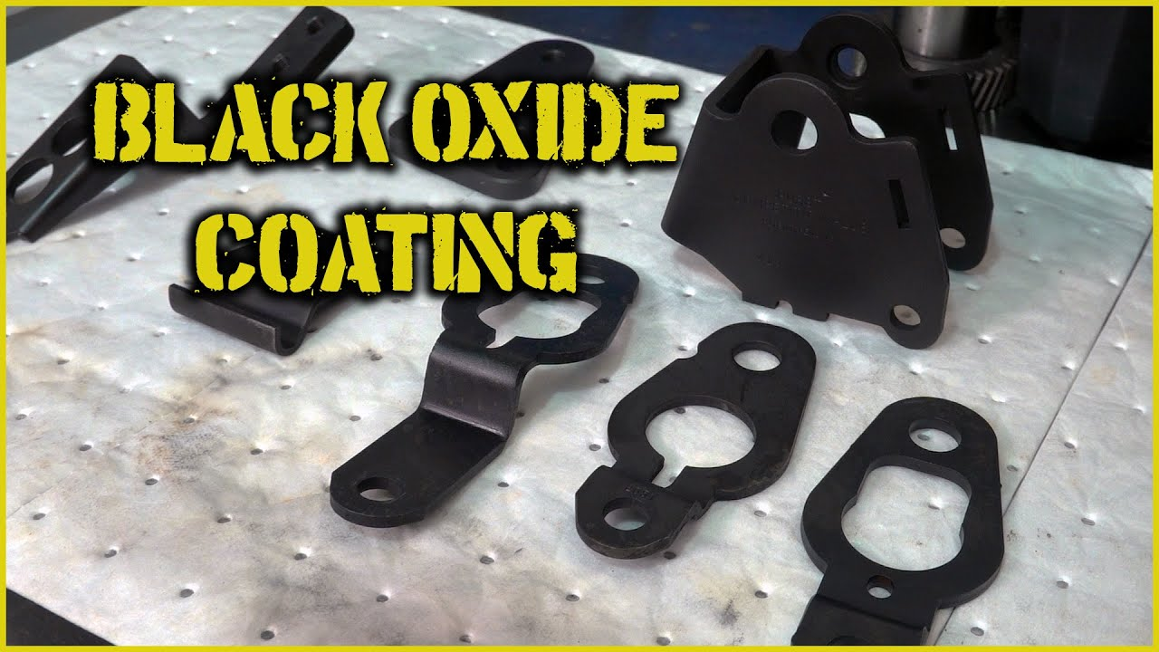Black Oxide Coating Parts For Your Own Projects