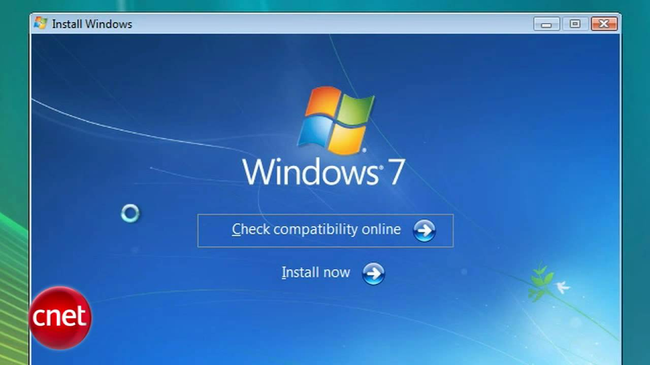 How To Upgrade Windows Vista To Windows 7 Youtube