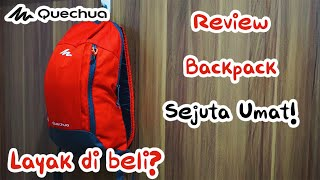 Review: Backpack Quechua Arpenaz 10