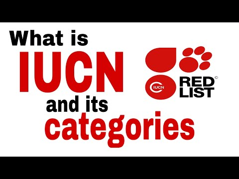 WHAT IS IUCN, RED DATA BOOK,|RED DATA LIST- Knowing About Biodiversity