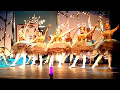 Espetáculo Frozen - Ballet Souza Leão
