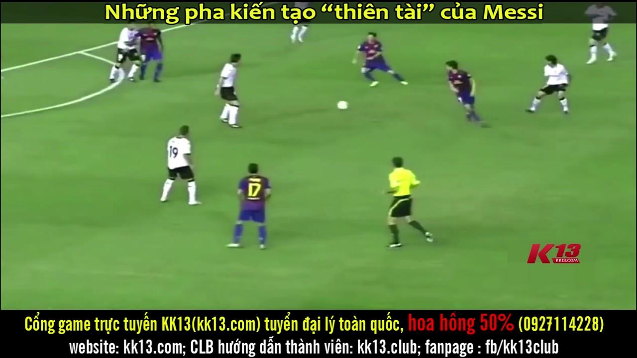 Messi: Thiên tài toàn diện từ ghi bàn tới kiến tạo