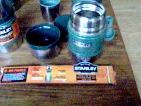 Stanley Thermos and Vacuum insulated food jar - YouTube